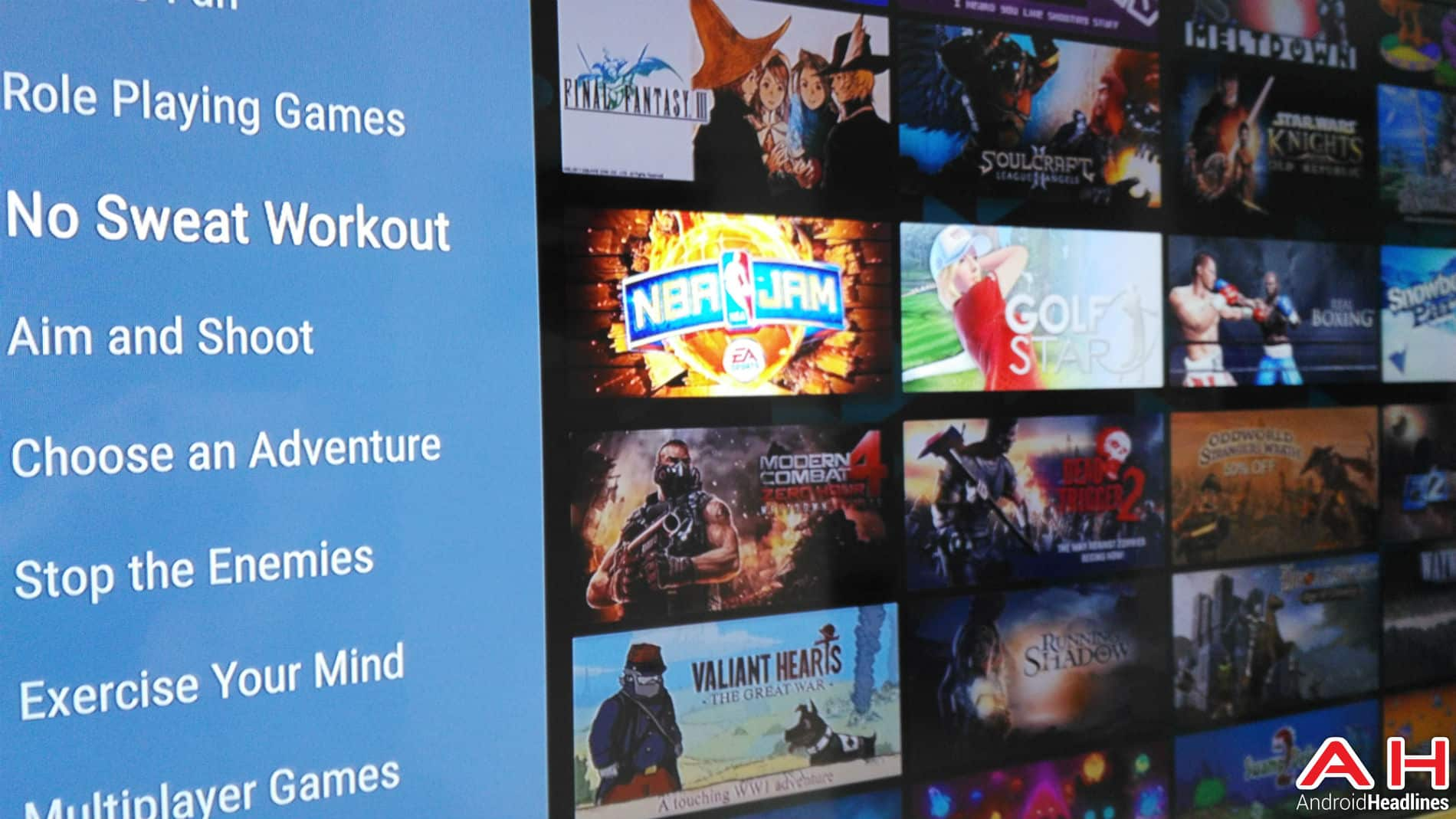 Android TV Apps AH 2