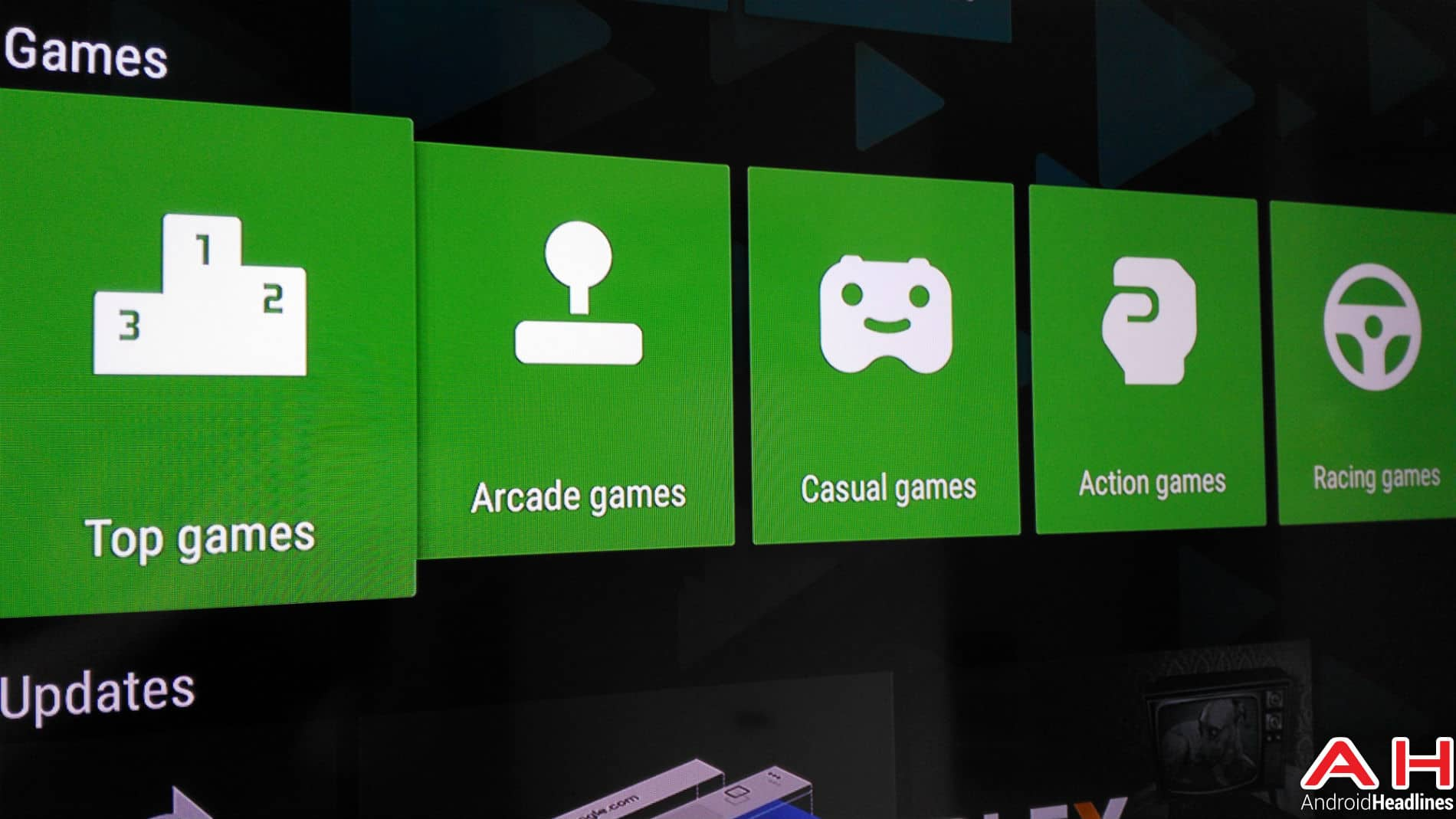 Android TV Apps AH 3