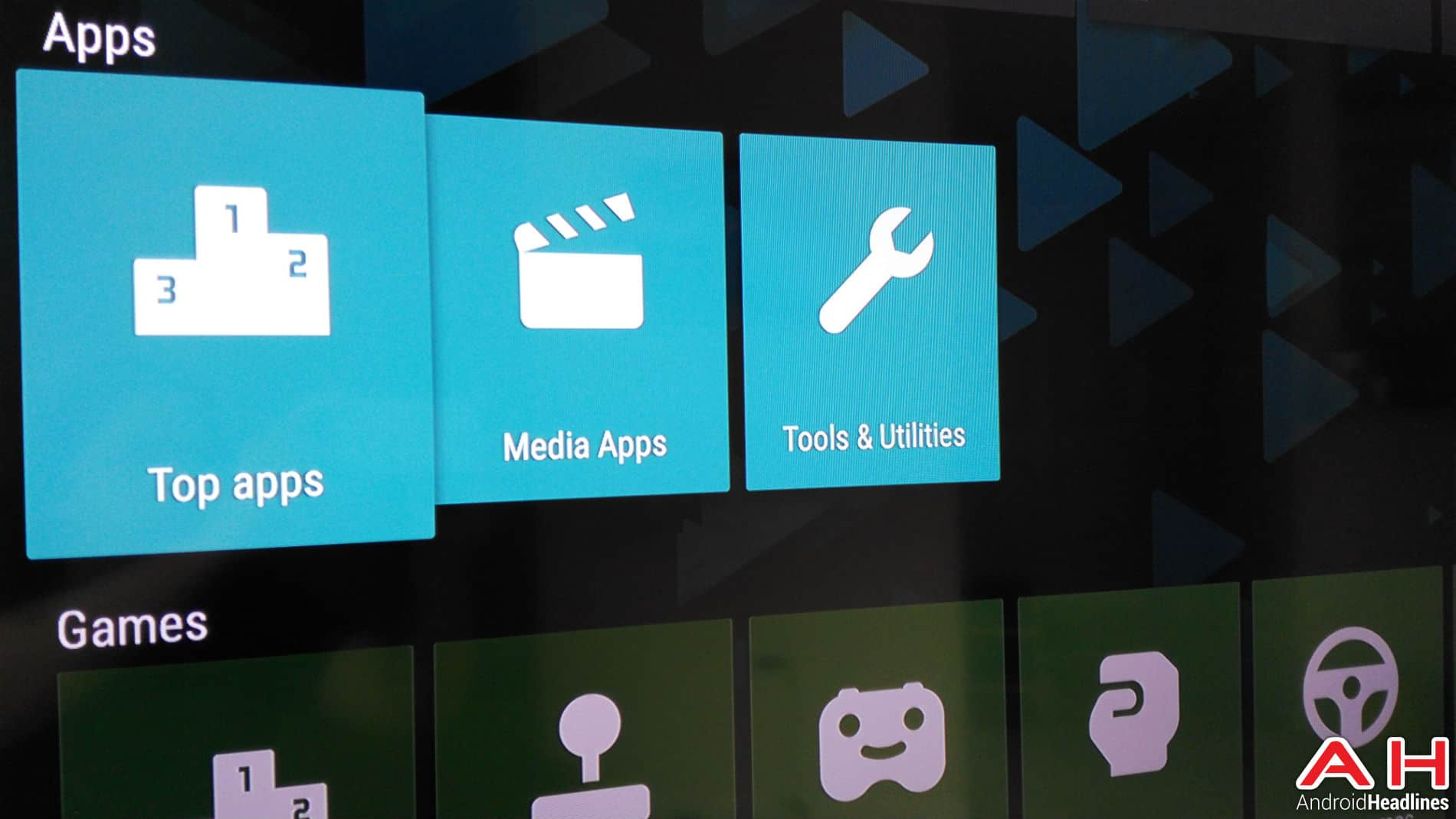 Android TV Apps AH 4