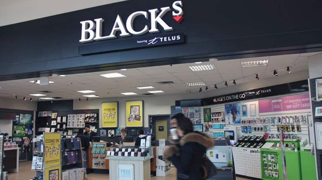 Blacks Photography Stores
