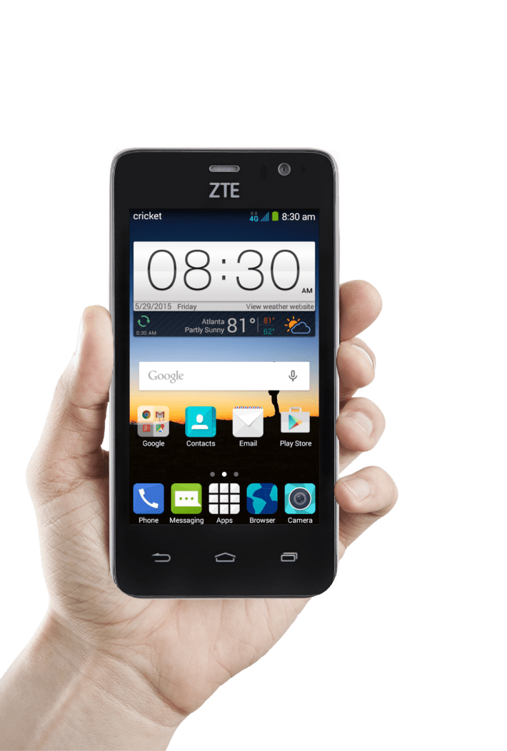 ZTE Launches Two new Smartphones for AT&T & Cricket