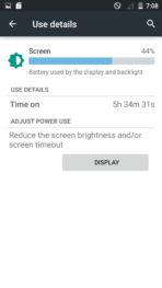 Elephone P7000 Review AH battery 5