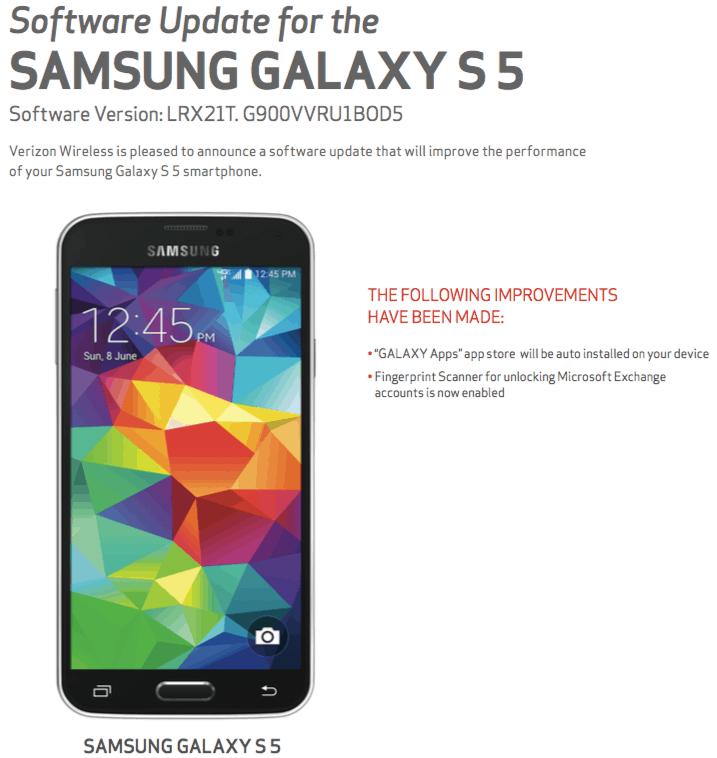Galaxy S5 Big Red Jun