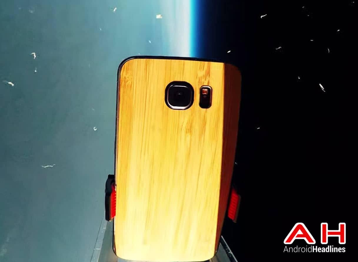 Galaxy S6 in Space cam AH