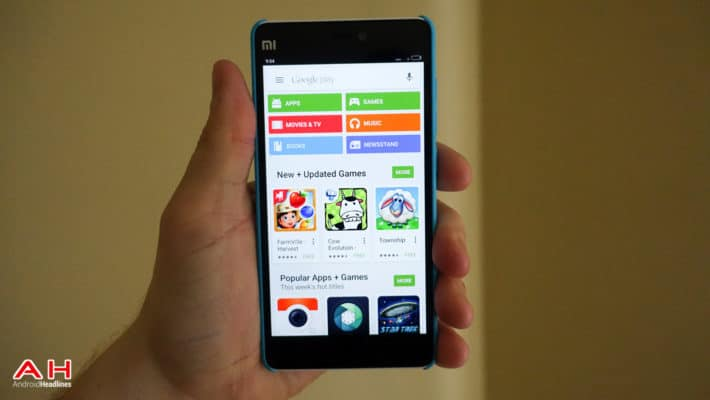 Google Play Store AH 1