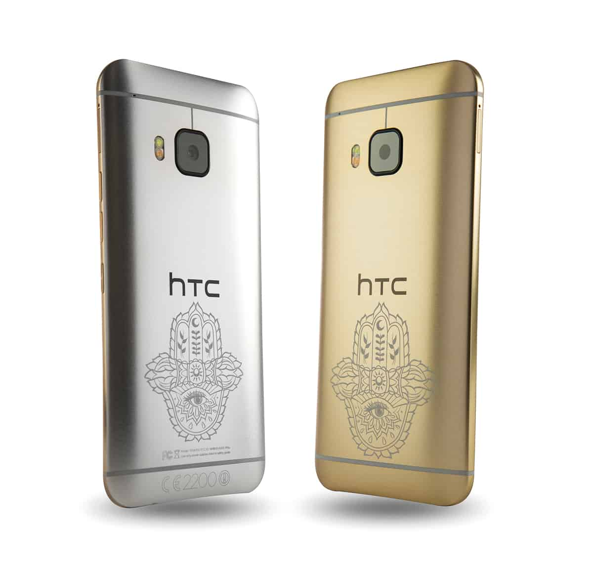 HTC-ONE-M9-INK-GOLD-HANDSET-AND-SILVER-HANDSET-LOW-RES