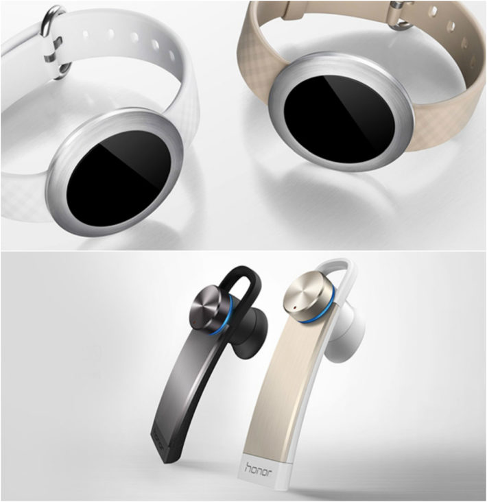 Huawei Reveals Honor Band Zero & Honor Whistle