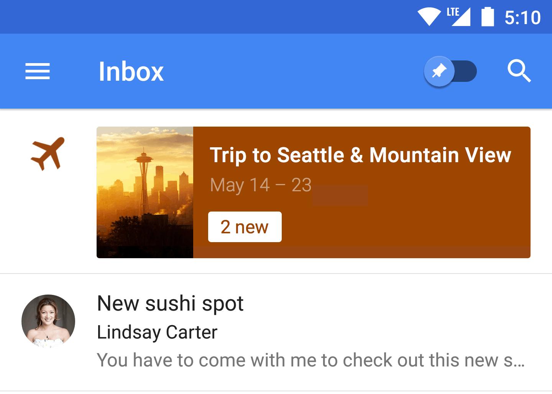 Inbox Trip 1