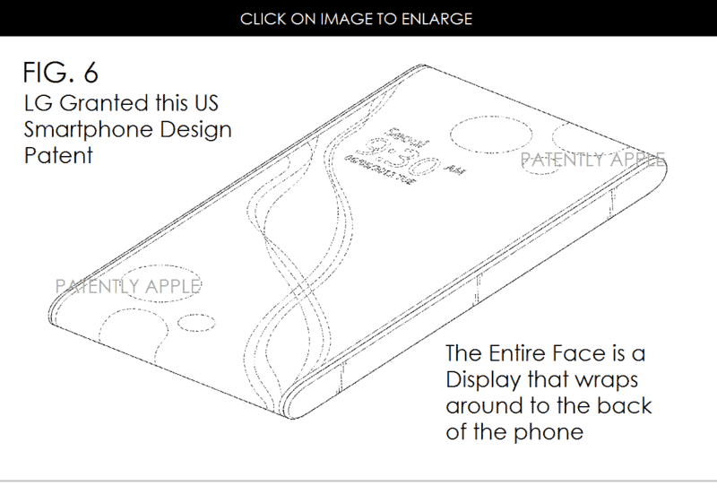 LG Bezel Patent