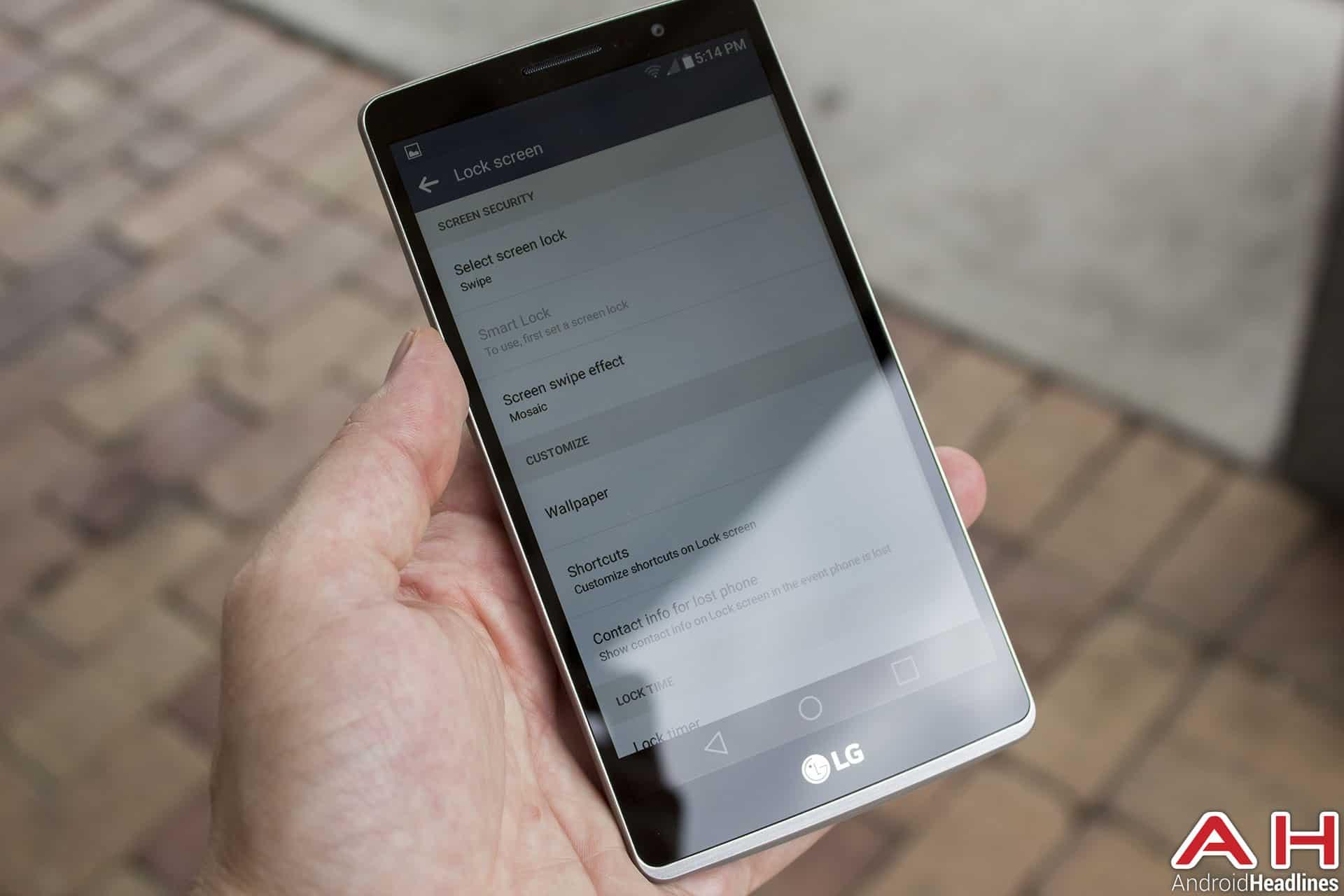 LG G Stylo Review AH ui 3