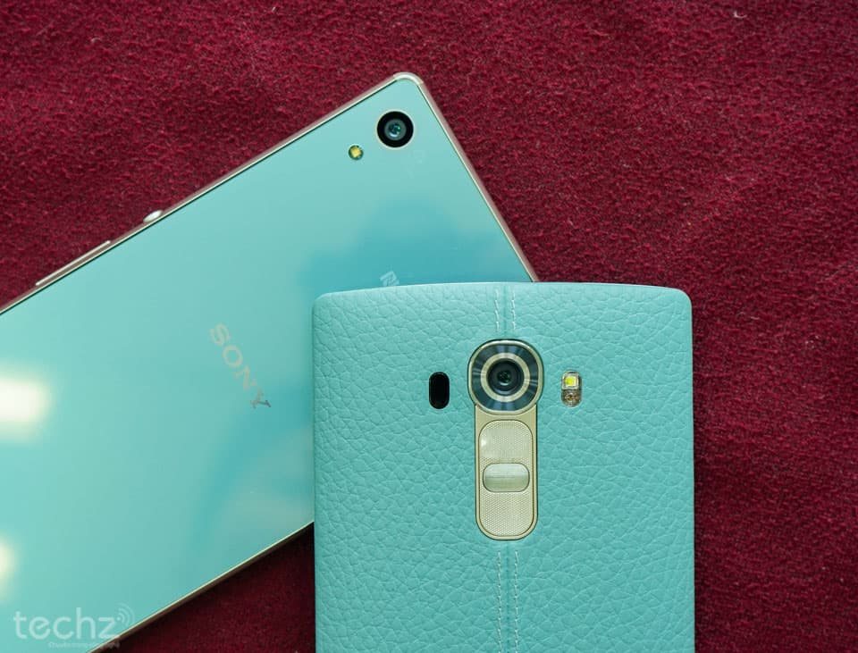 LG G4 and Xperia Z4