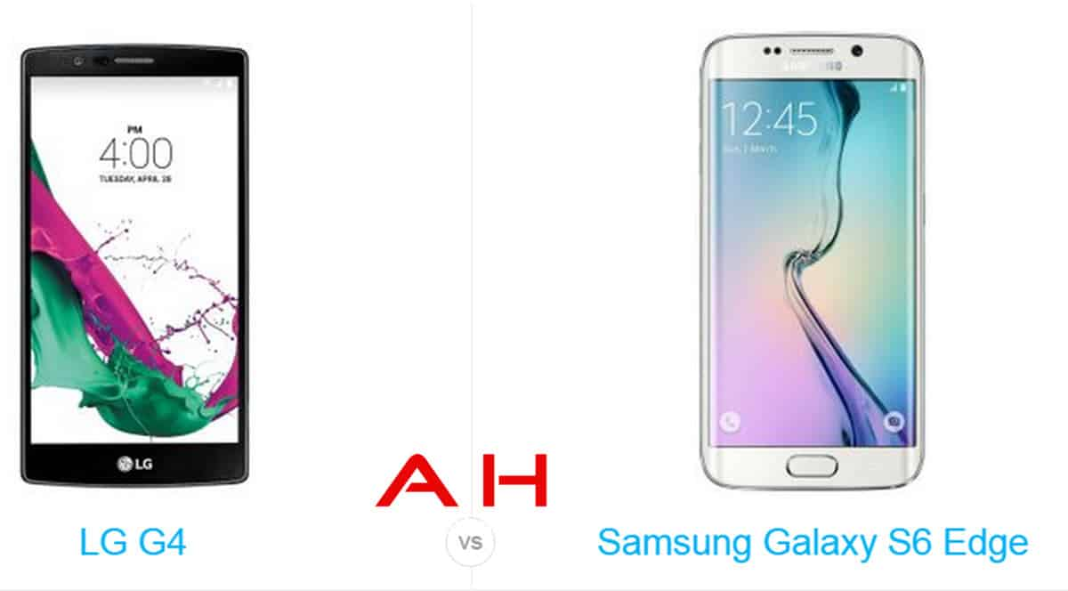 LG G4 vs Galaxy S6 Edge cam AH