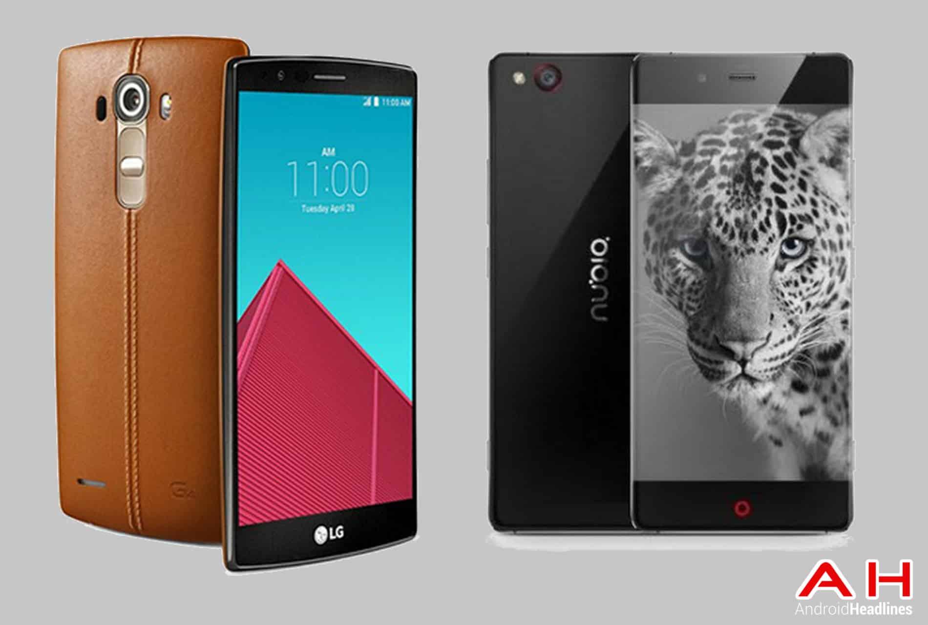LG G4 vs Nubia Z9 cam AH