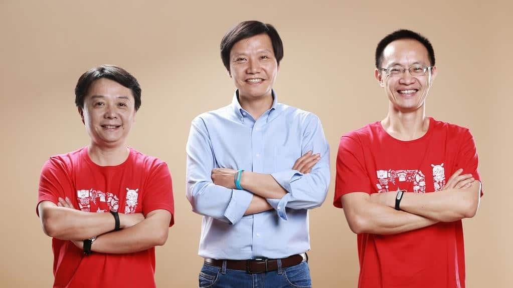 Lei Jun Lin Bin Wang Xiang Xiaomi KK