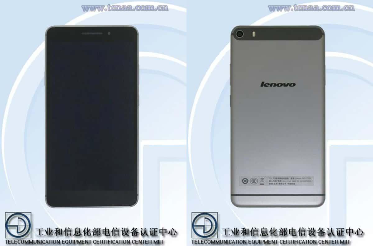Lenovo 6.8-inch phablet TENAA_1