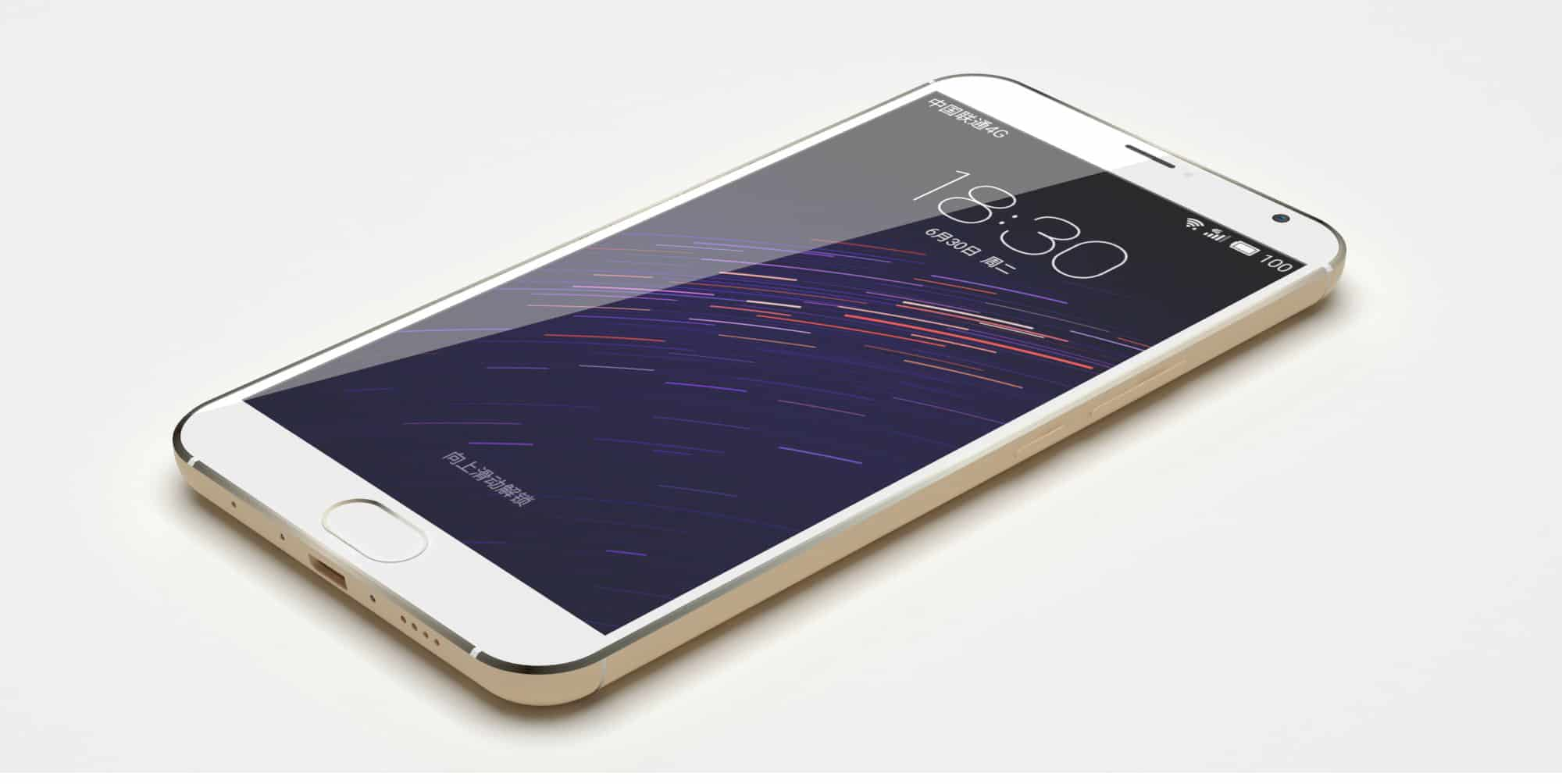 Meizu MX5 leaked render 1
