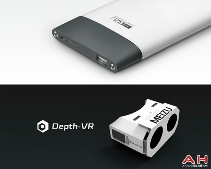 Meizu Unveiled Depth-VR Glasses, 10,000mAh Power Bank