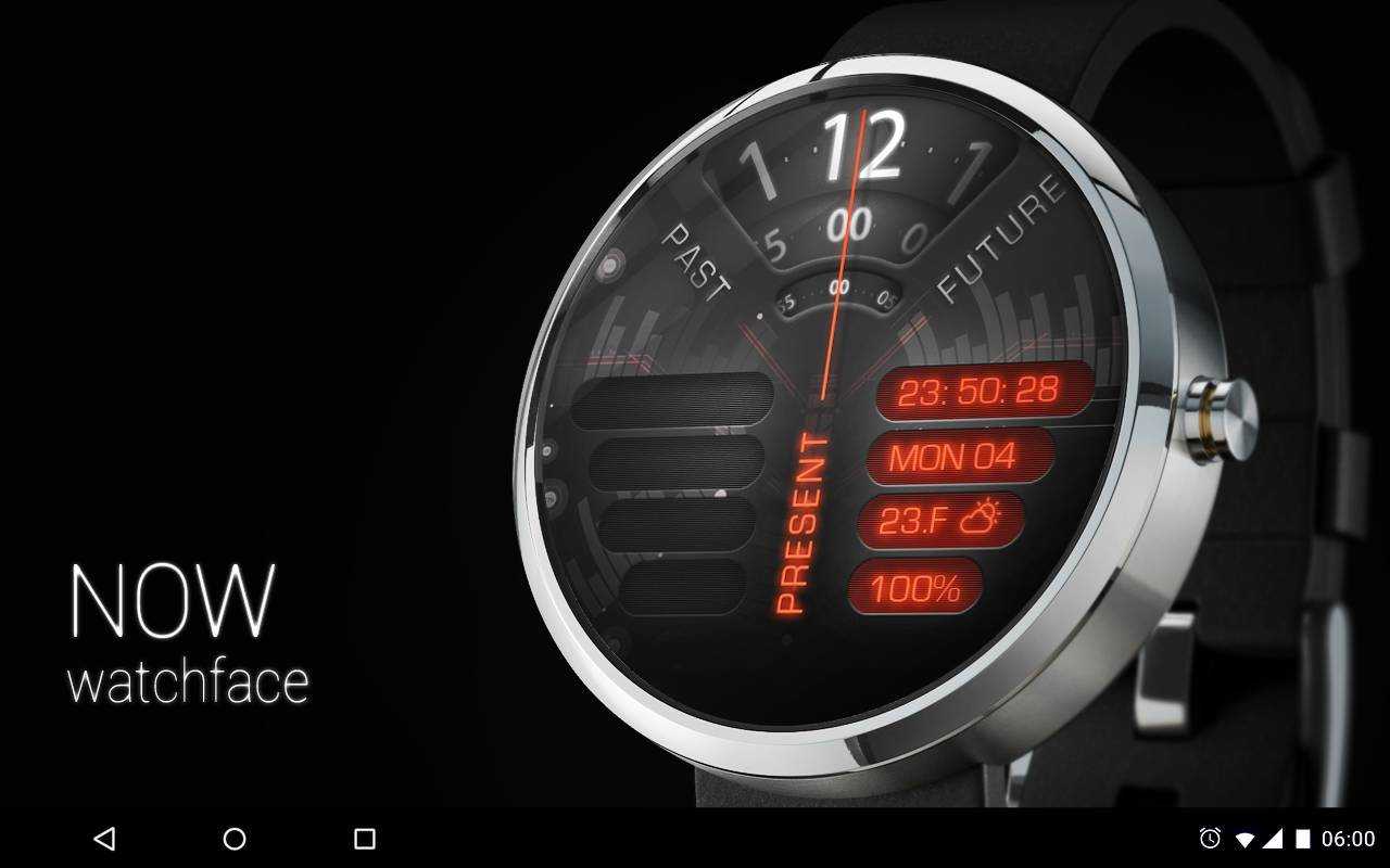 Now Watch face