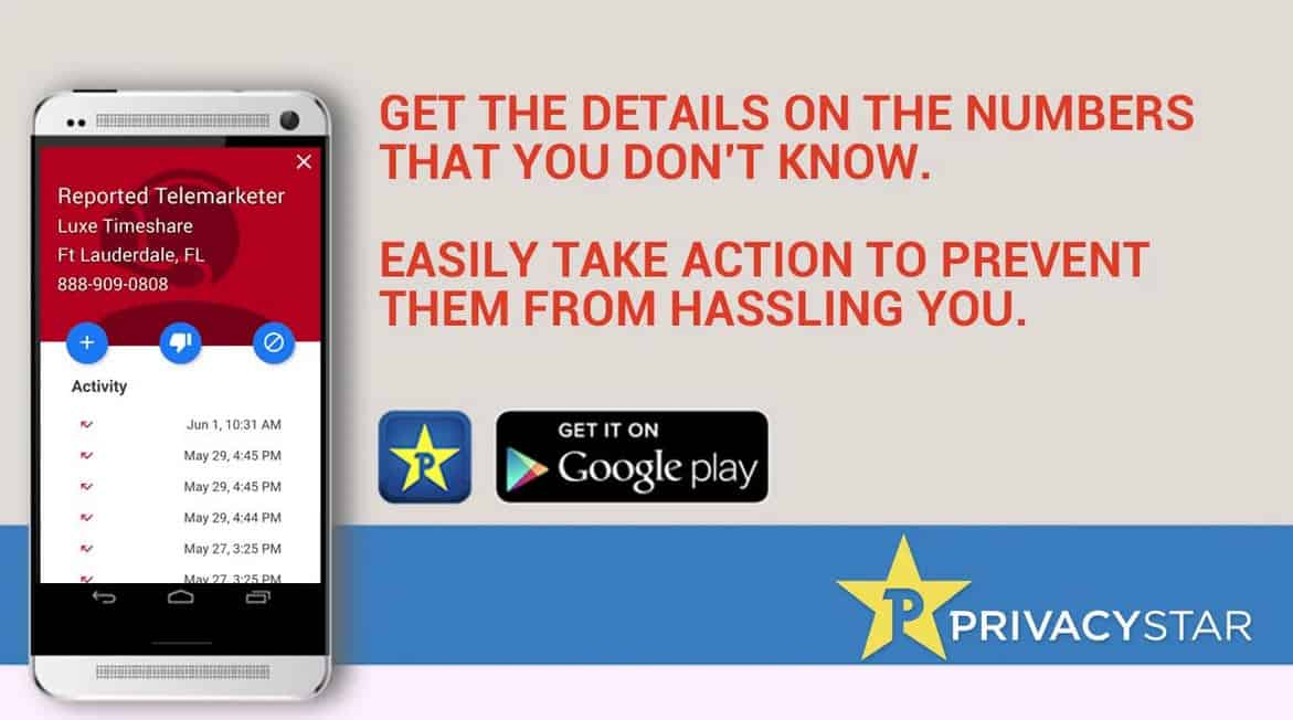 Privacy Star Call Details 2