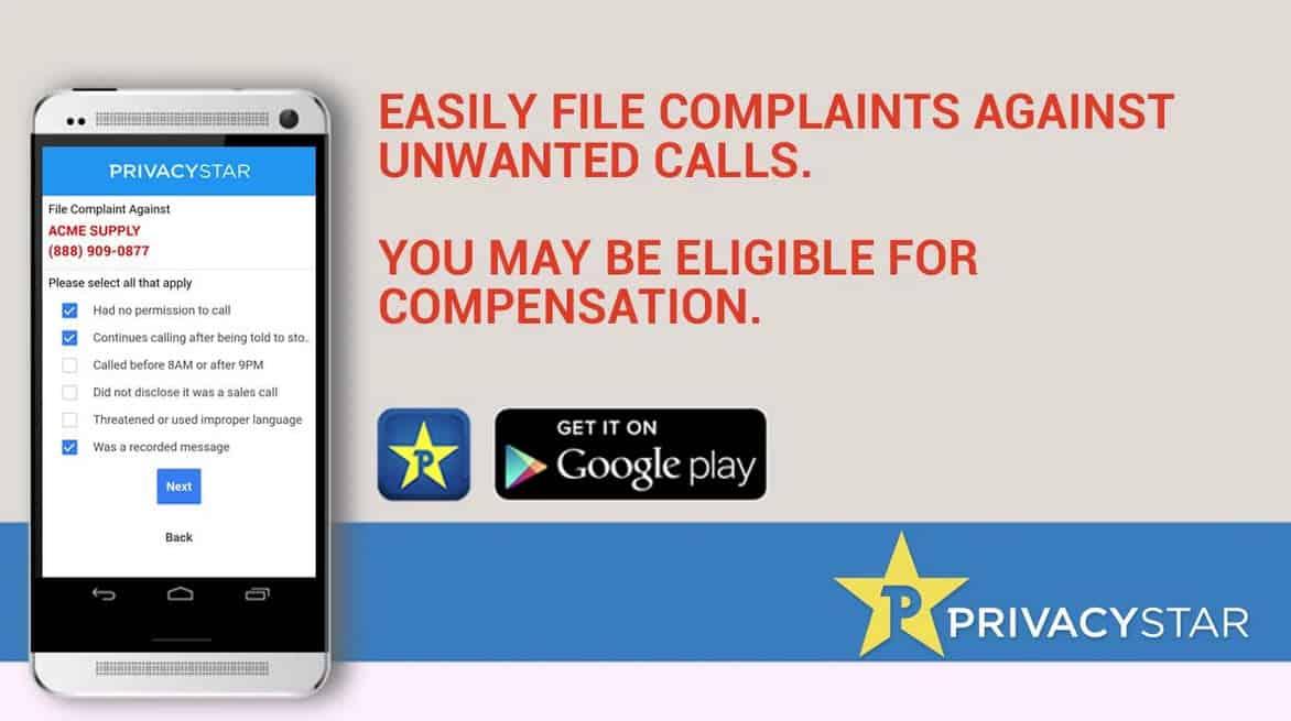 Privacy Star File Complaints 3