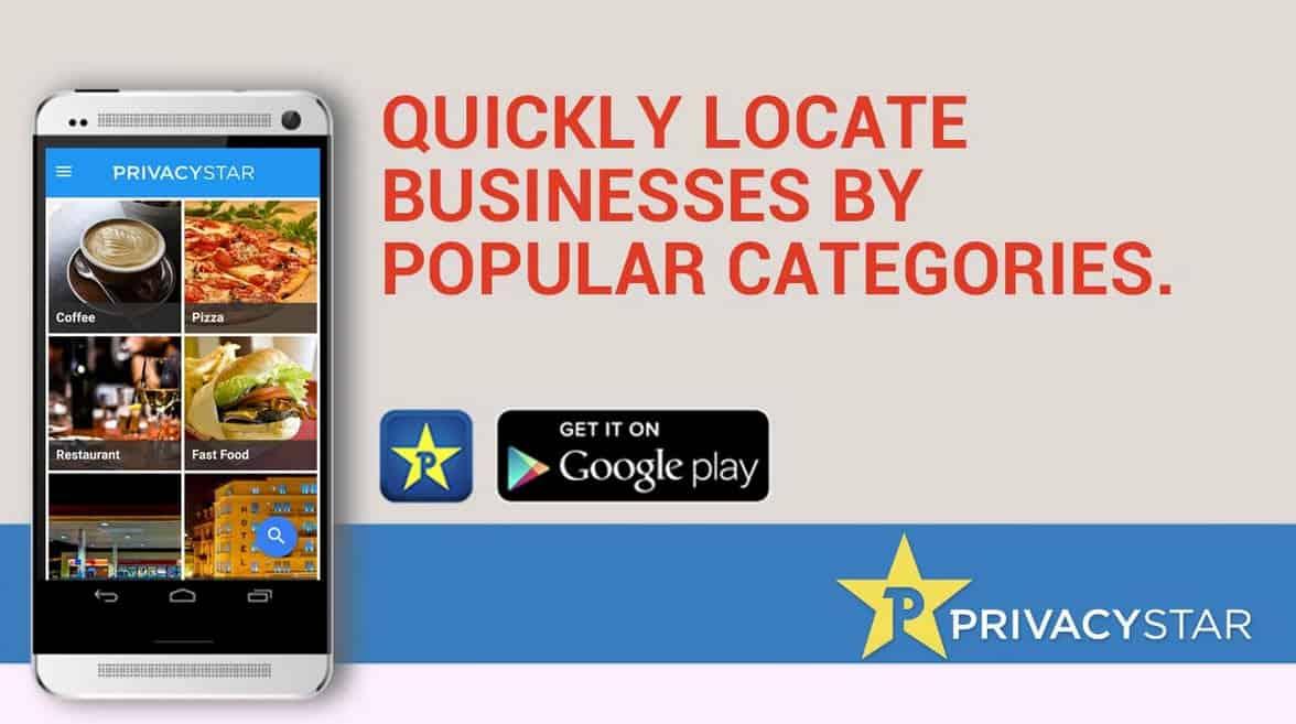 Privacy Star Locate by Category 5