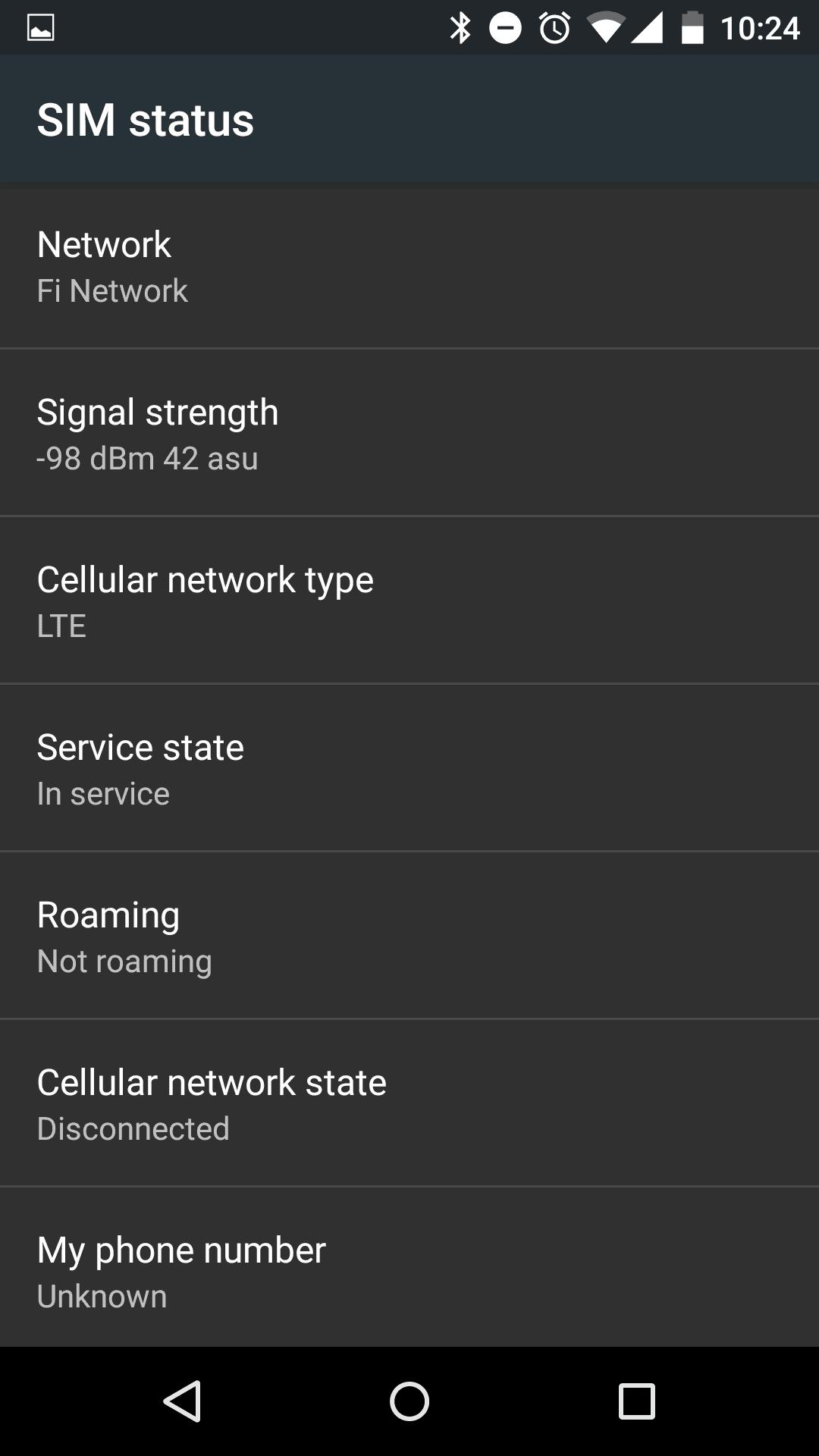 Project Fi Nexus 5