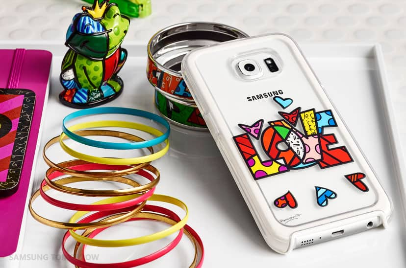 Samsung Galaxy S6 Edge Romero Britto Desinger Case Cover KK