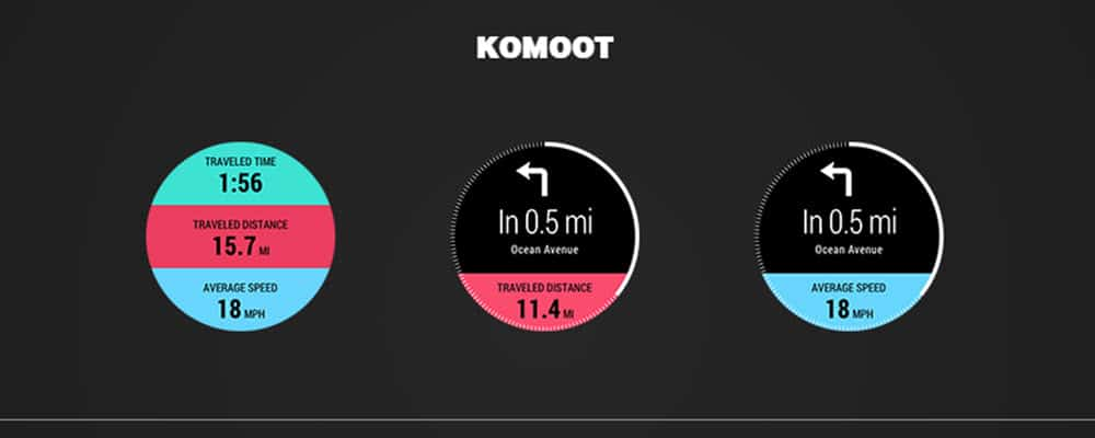 Samsung Next Gear Komoot