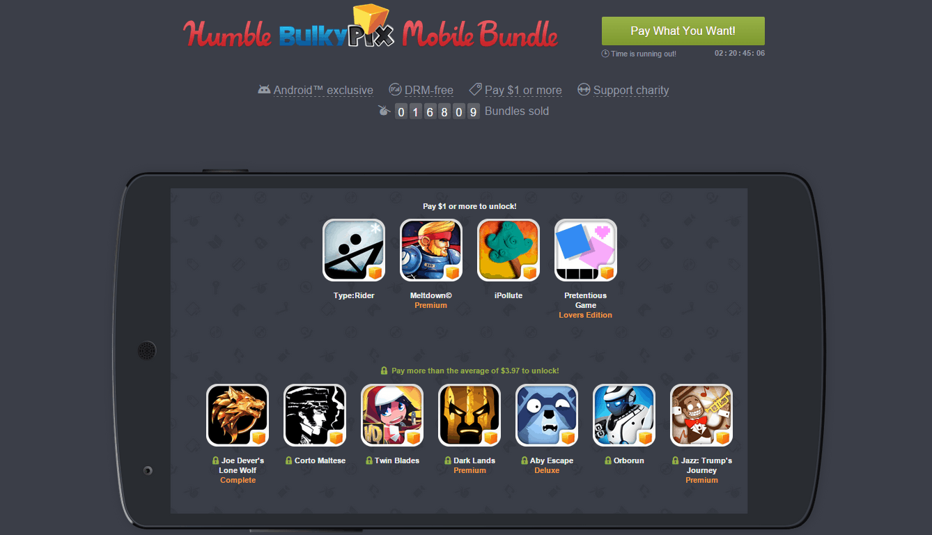 Humble Bulky Pix Mobile Bundle