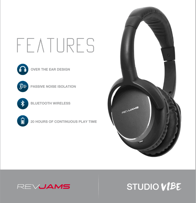 Studio Vibe 2 Features