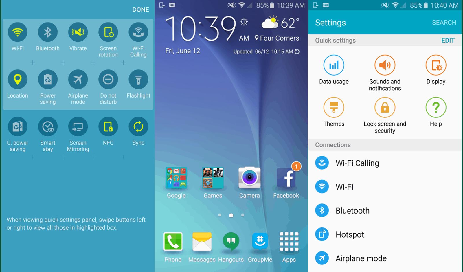 Samsung Galaxy S6 Software