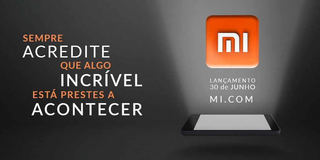 Xiaomi Brazil launch announcement