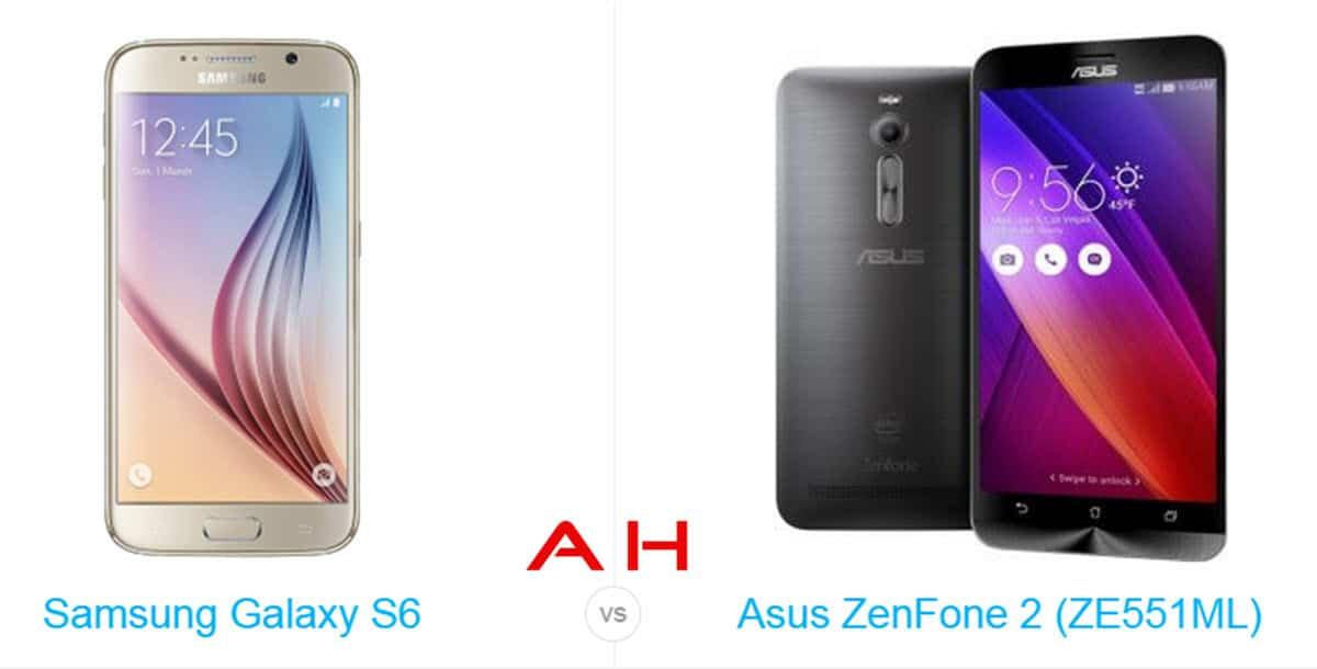 ZenFone 2 vs Galaxy S6 cam AH