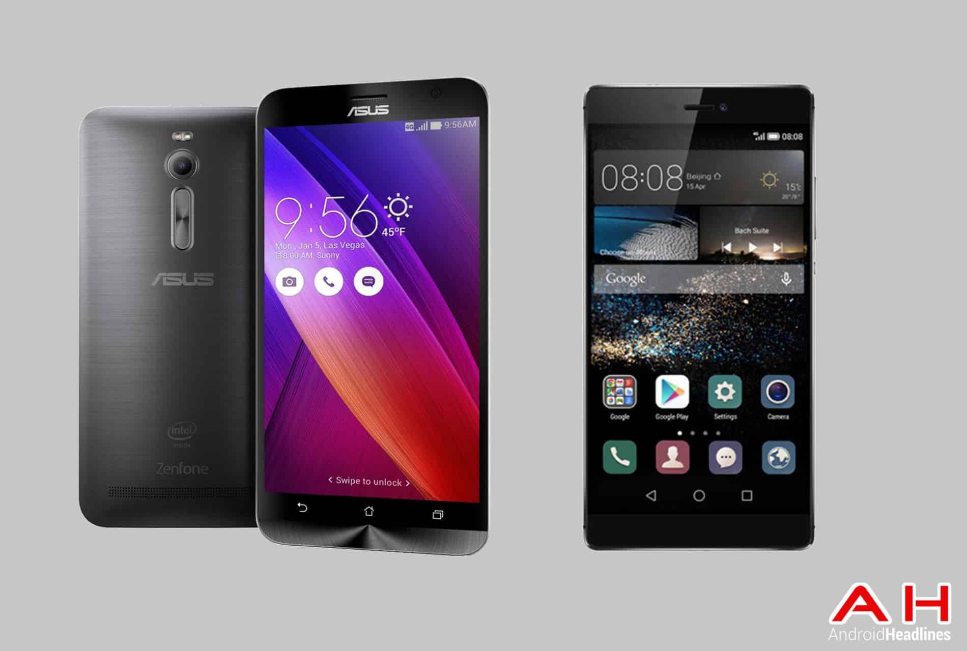 ZenFone 2 vs Huawei P8 cam AH 2