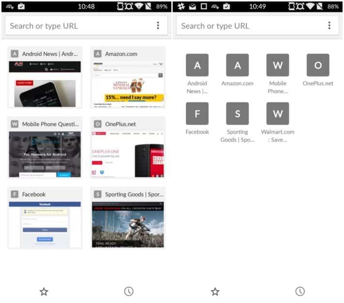 chrome beta tab icons
