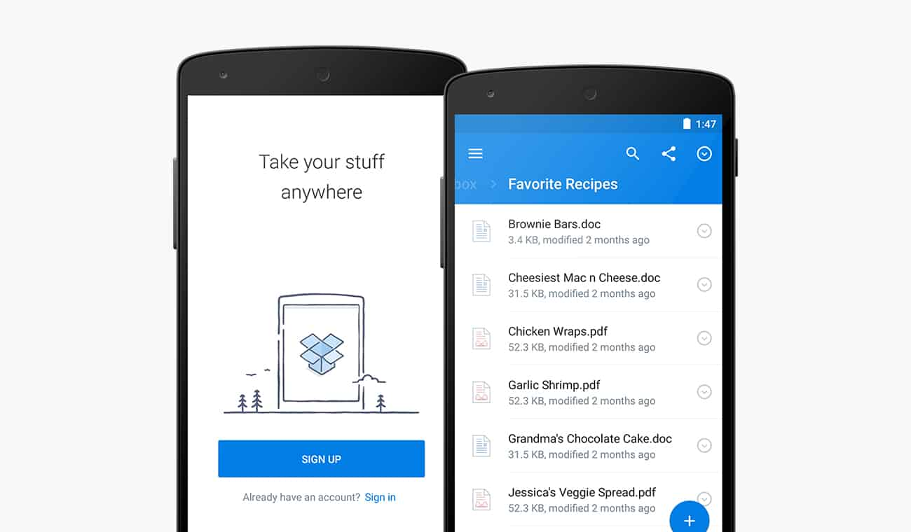 dropbox-for-android-3-0-1