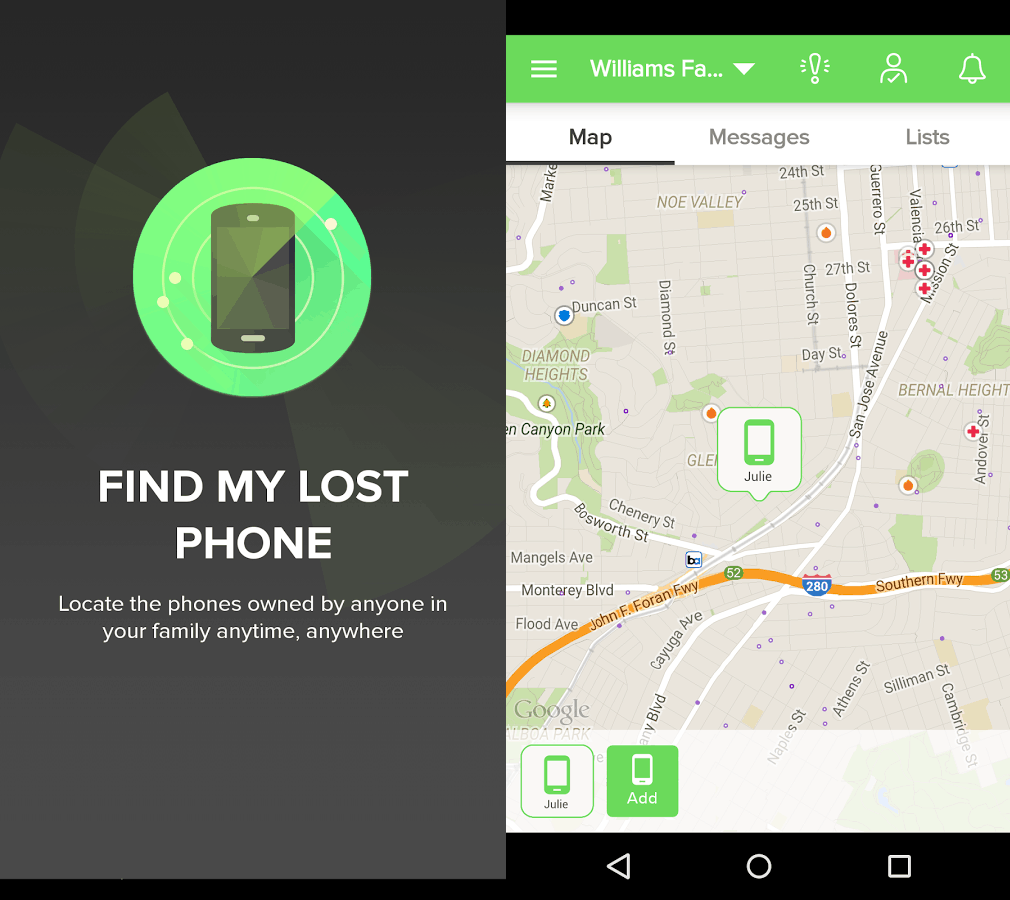 find my lost phone
