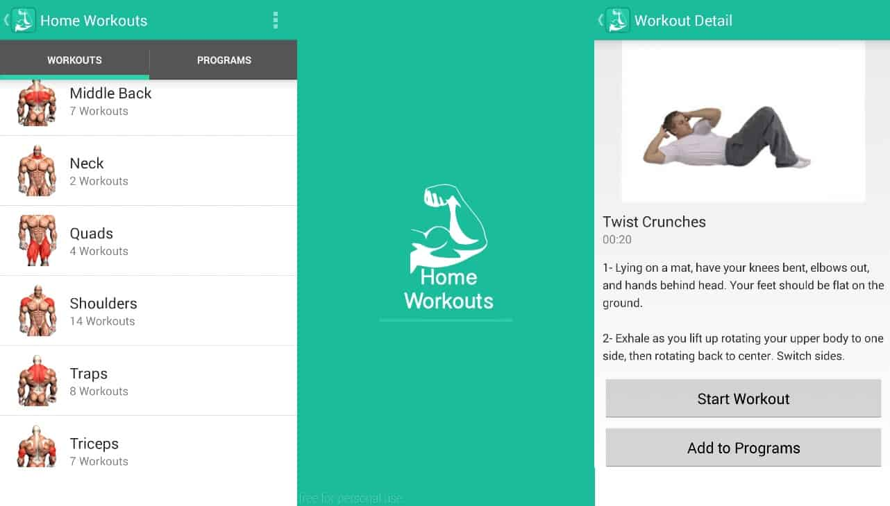 Not Everyone Has The Time To Go Gym And For Those Who Prefer Workout At Home This Is Where Workouts Will Help App Designed