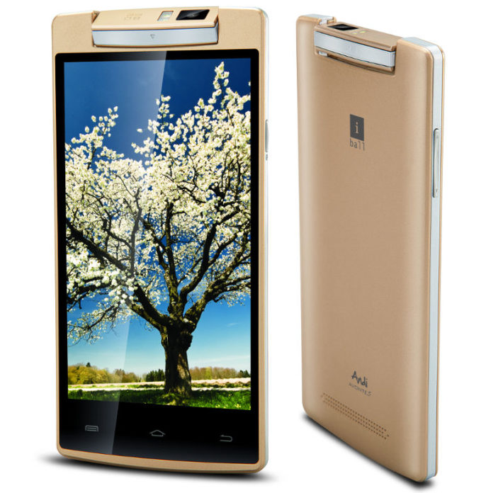 iBall Andi Avonte 5 Features An 8MP Rotating Camera