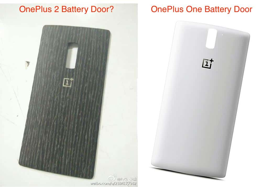 oneplus 2 back cover leak