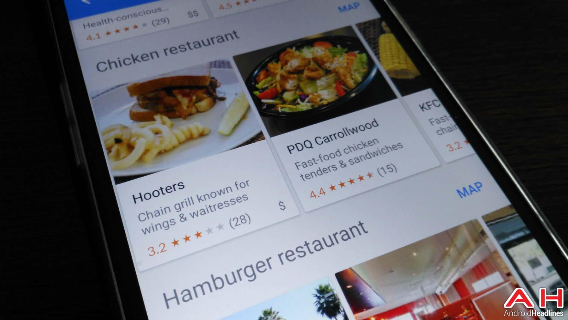 restaurants AH