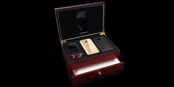 24K Gold HTC One M9 - 2