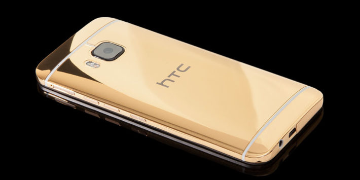 24K Gold HTC One M9