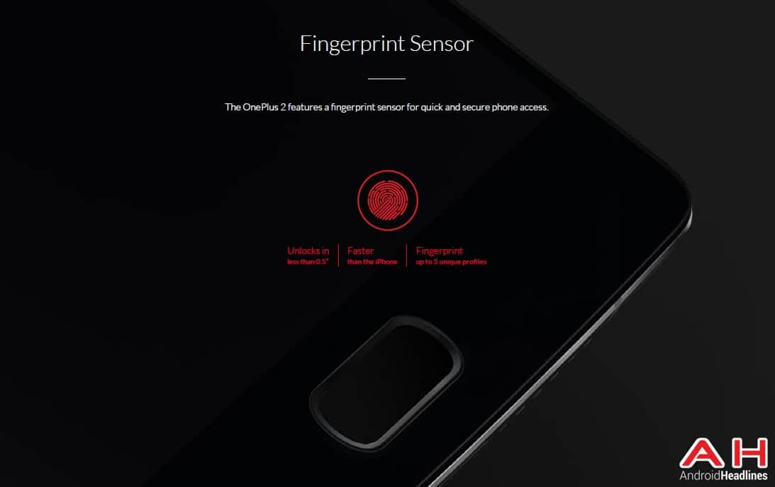 AH OnePlus Two 1.4 Press Images Fingerprint