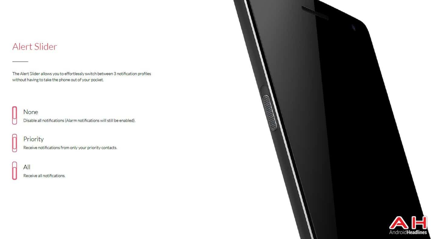 AH OnePlus Two 1.5 Press Images Alert Slider