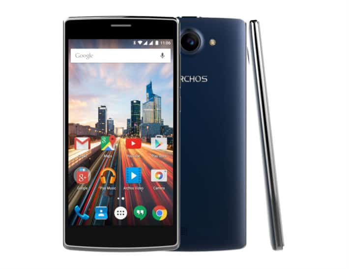ARCHOS Unveil 50d Helium Smartphone Priced At £99