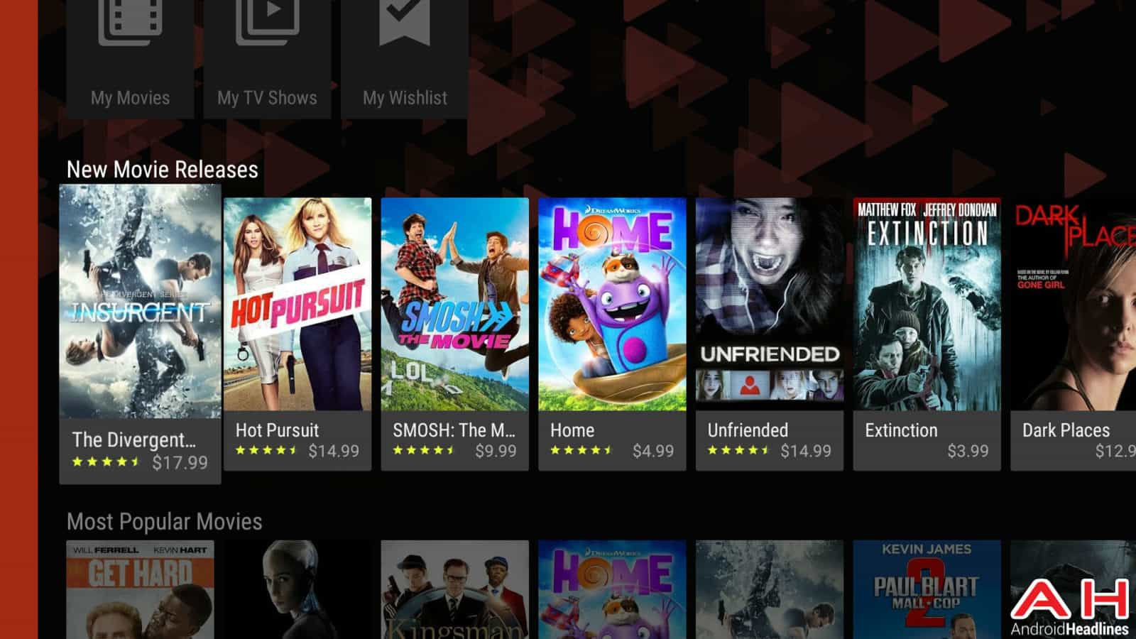 Android TV Movies AH