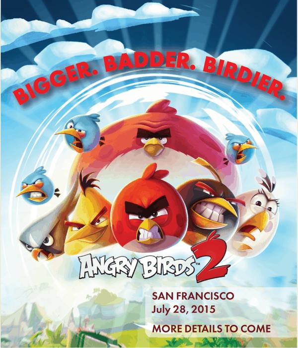 Angry Birds 2 Tease