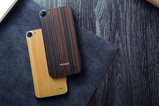 Doogee F3 Wood Cover_5