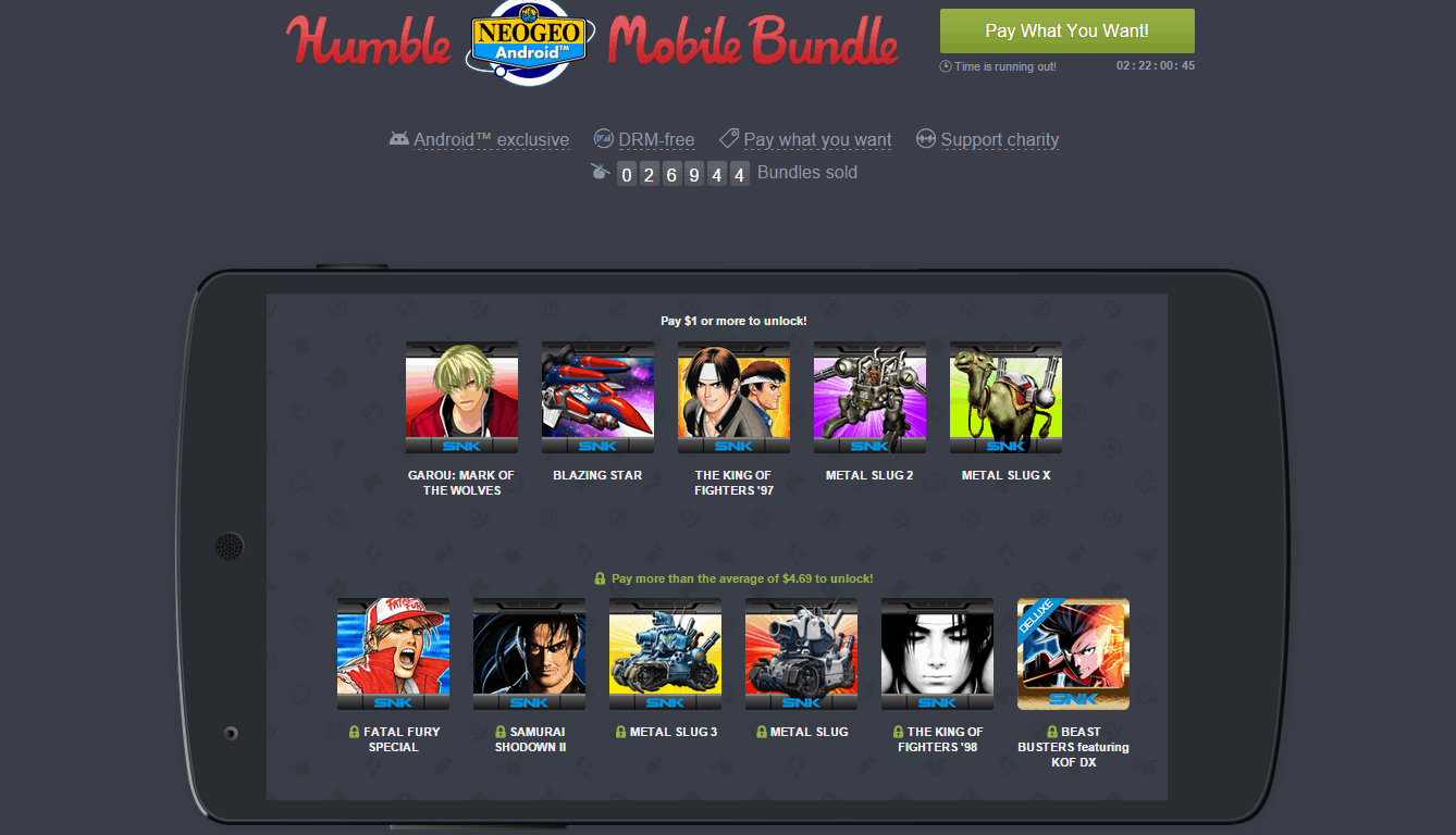 Humbe NEOGEO Mobile Bundle